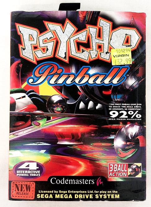 Psycho Pinball Megadrive U.K. (PAL)