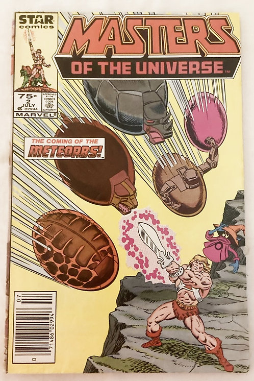 He-Man And The Masters Of The Universe No 2. Star Comics July 1986