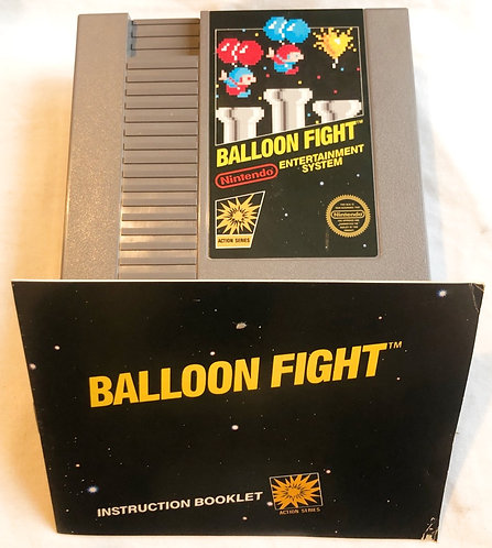 Balloon Fight Nintendo NES U.S.A (NTSC) 1985