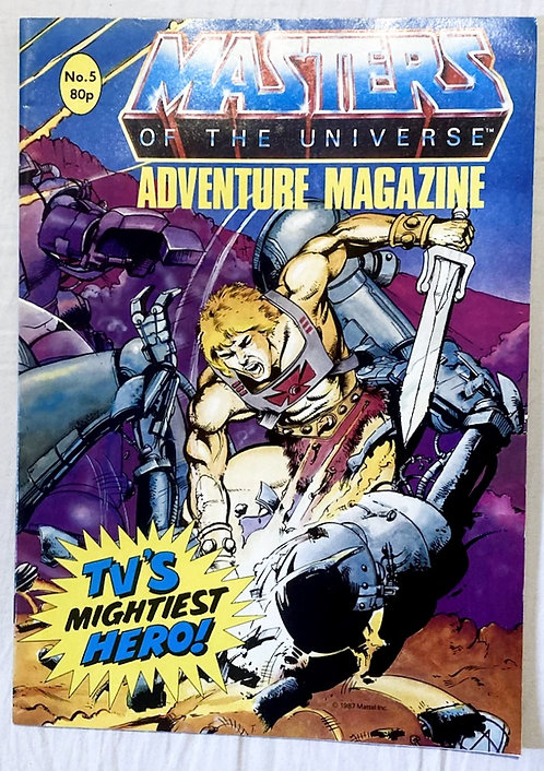 He-Man And The Masters Of The Universe Adventure Magazine No. 5  1987