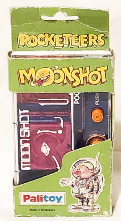 Moonshot Pocketeers Retro Handheld Game Tomy Palitoy (B)