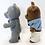 Thumbnail: Sylvanians Evergreen Grey Bear And Timbertop Brown Bear Set 1985
