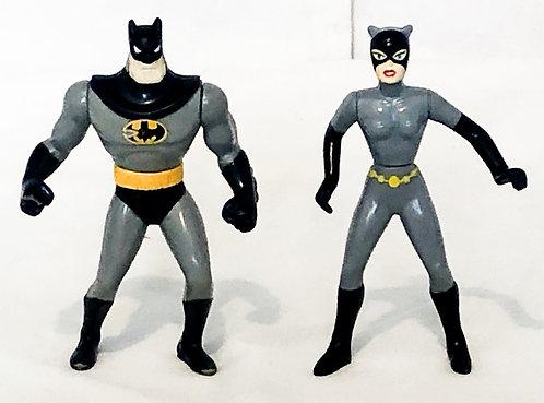 Batman And Batgirl Figure Set 1993
