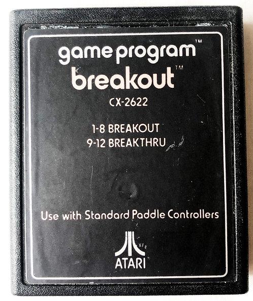 Breakout Atari 2600 U.K. (PAL)