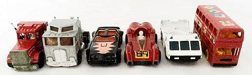 Vintage Matchbox Vehicle Set