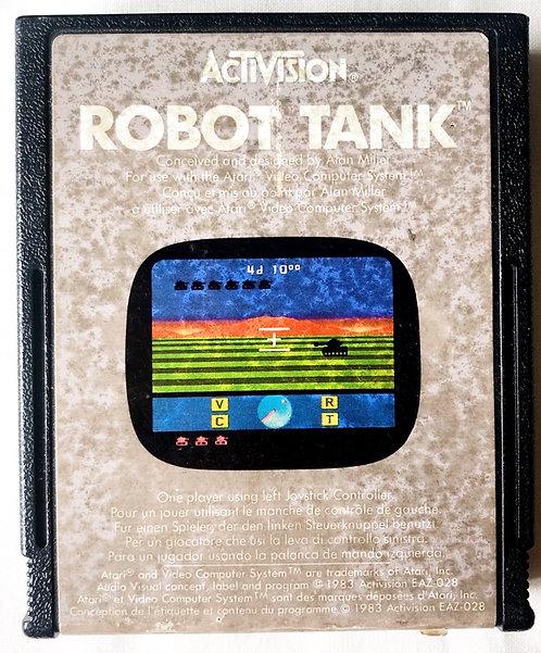 Robot Tank Atari 2600 U.K. (PAL)