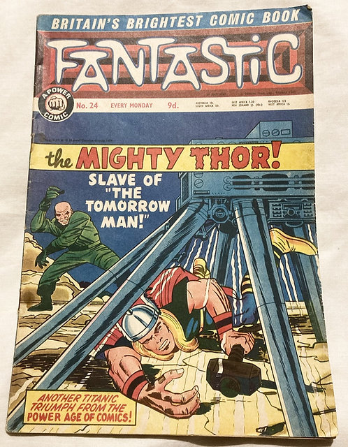 Marvel Fantastic The Mighty Thor No 24 July 1967