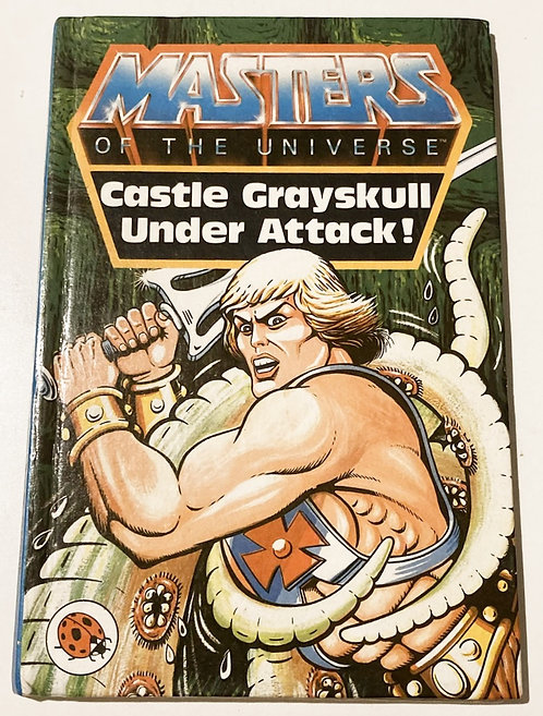 He-Man And The Masters Of The Universe Castle Grayskull Under Attack Book Ladyb