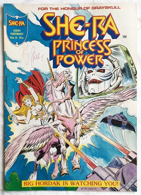 She-Ra Princess Of Power No 13 Comic 1987