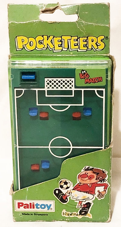 Big Match Pocketeers Retro Handheld Game Tomy Palitoy (B)