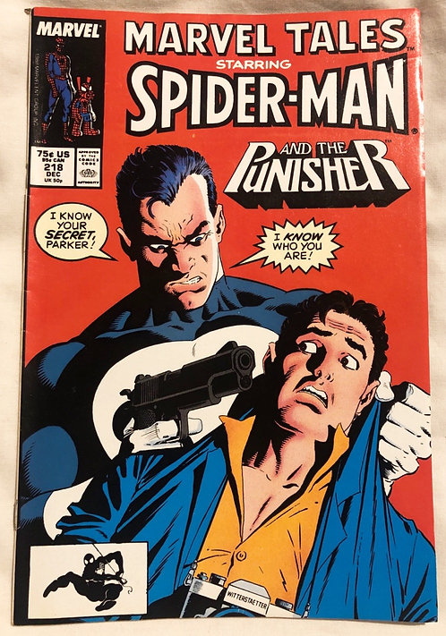 Marvel Tales Starring Spider-Man And Punisher No 218 December 1988