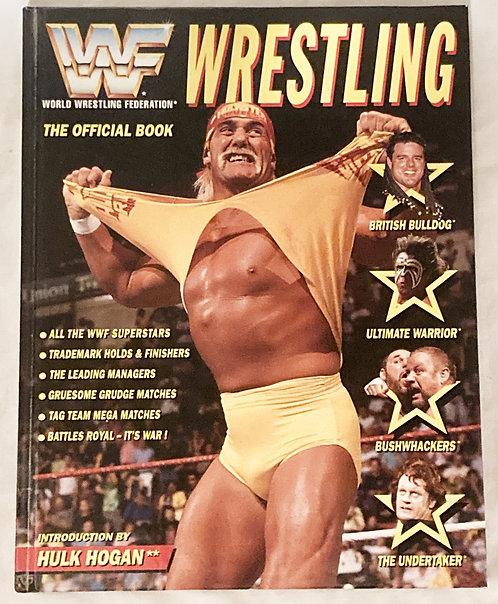WWF World Wrestling Federation The Official Large Hardback Book 1992
