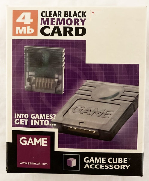 Nintendo Game Cube Memory Card Game (PAL)