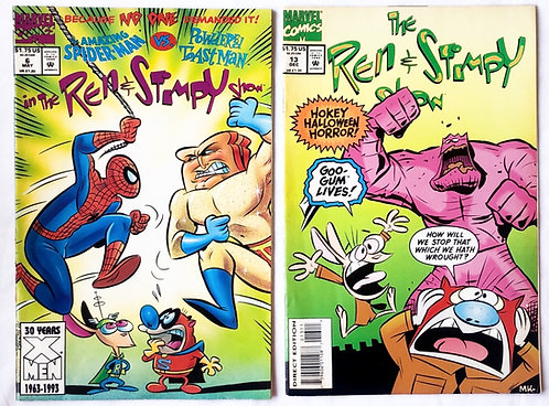 The Ren And Stimpy Show Comic No13 And No6  1993