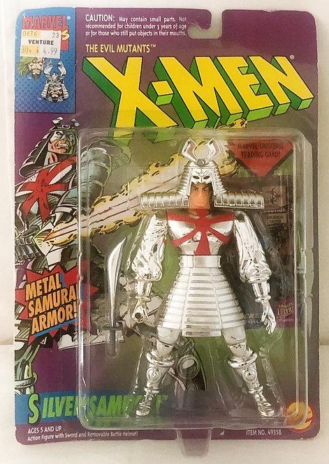 X-Men Silver Samurai Figure Toy Biz 1994