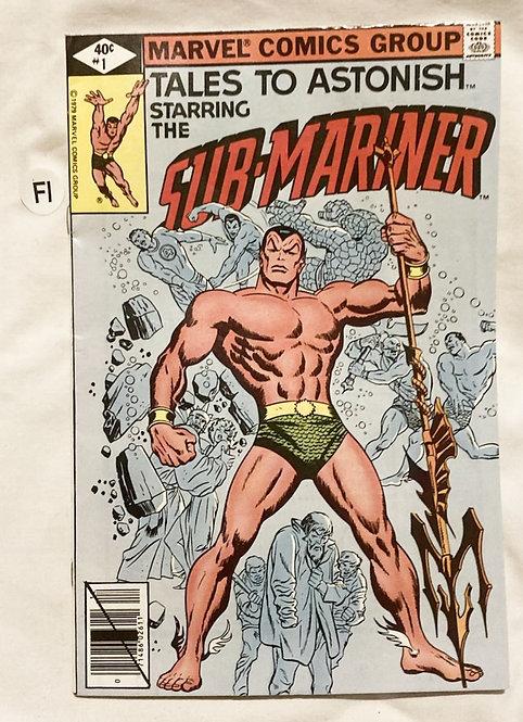 Marvel Tales To Astonish Sub-Mariner #1 l 1979