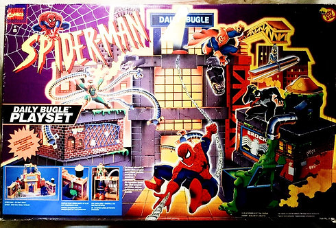 Spider-Man Daily Bugle Playset Toy Biz 1995