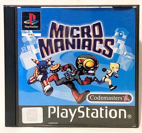 Micro Maniacs PlayStation Game U.K. (PAL)