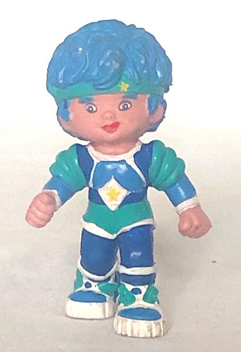 Rainbow Bright Buddy Blue Mini Figure