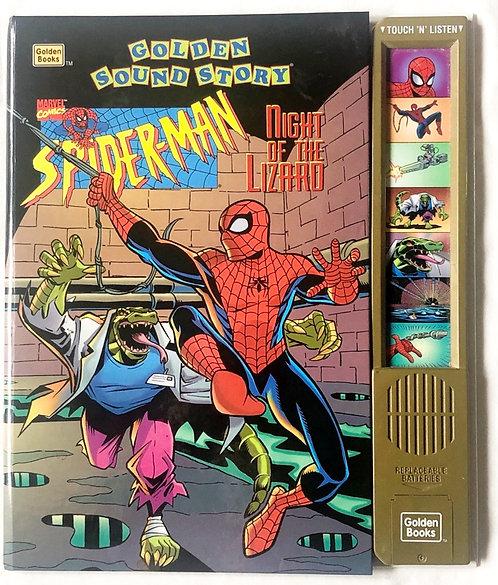 Spider-Man Night Of The Lizard Golden Sound Story