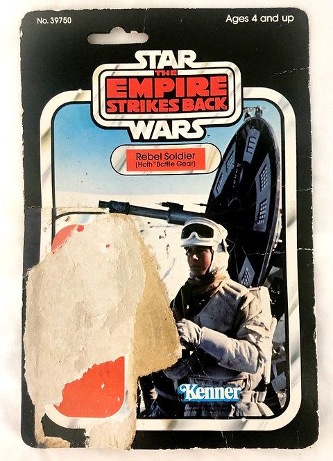Vintage Star Wars ESB Rebel Soldier Backing Card