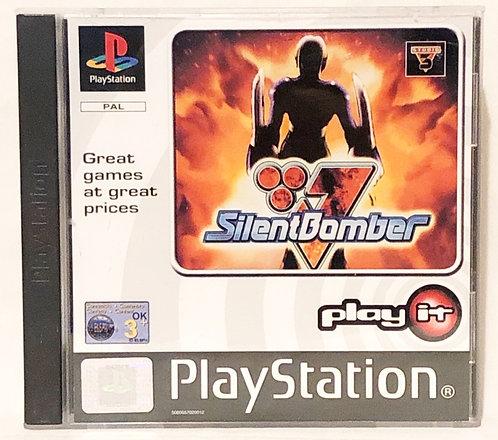 Silent Bomber PlayStation Game U.K. (PAL)