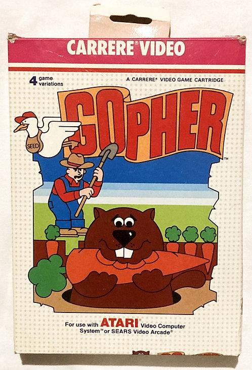 Atari 2600 Gopher Sears 1983