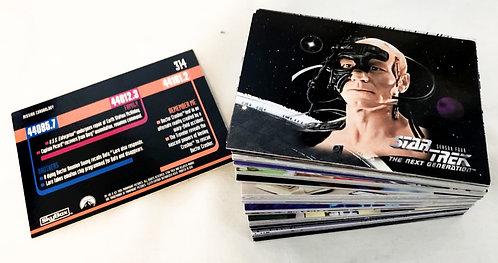 Star Trek The Next Generation Season 4 Trade Cards Skybox 1996