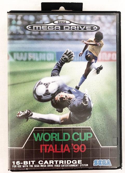 World Cup Italia '90 Sega Megadrive U.K. (PAL)
