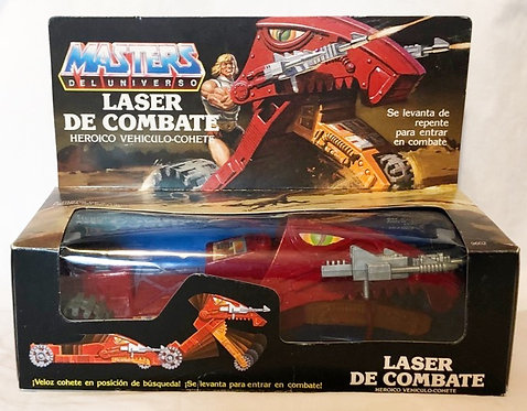 He-Man And The Masters Of The Universe Laser Bolt Spanish 1986