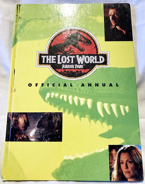 Jurassic Park The Lost World Official Annual