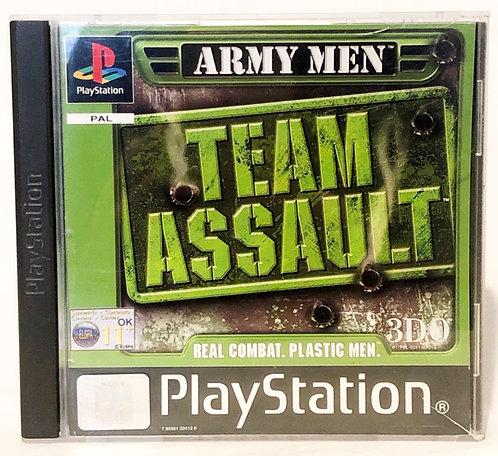 Army Men Team Assault  PlayStation Game U.K. (PAL)