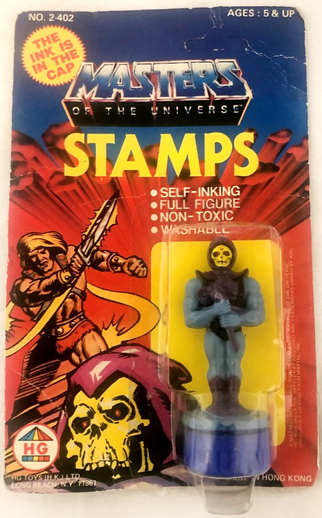He-man And The Masters Of The Universe Skeletor Stamp HG 1985
