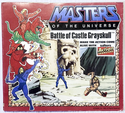 He-Man And The Masters Of The Universe Battle Of Castle Grayskull ActionTransfer