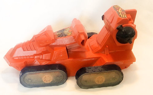 He-Man And The Masters Of The Universe Attack Track Orange Mattel France 1982