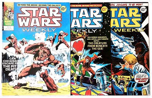 Vintage Star Wars Comic Set Marvel U.K.