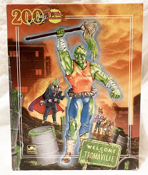 Toxic Crusaders  200 Piece Puzzle - Golden