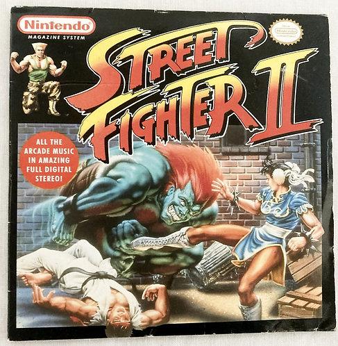Nintendo Street Fighter Sound Track CD Capcom 1991