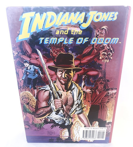 Vintage Indiana JonesAnd The Temple Of Doom Book
