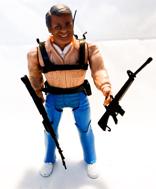 "The A-Team Hannibal Figure 6"" Galoob 1984"