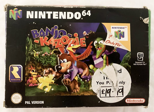 Nintendo N64 Banjo-Kazooie (PAL) 1998
