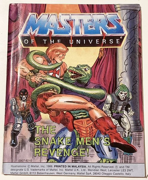 He-Man And The Masters Of The Universe The Snake Men's Revenge
