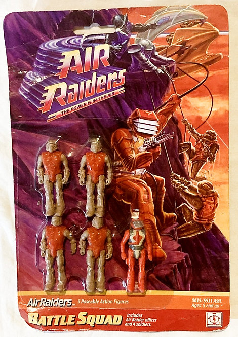 Air Raiders Battle Squad Hasbro 1987