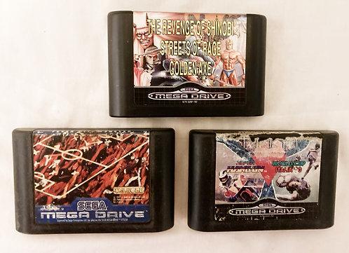 Sega Megadrive Fever Pitch Soccer, Mega Games 2 And 3 (PAL0