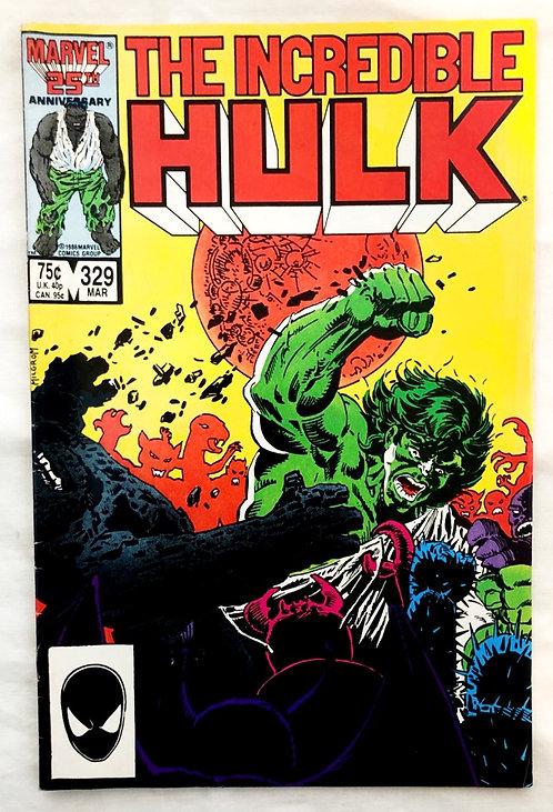The Incredible Hulk #329 1987