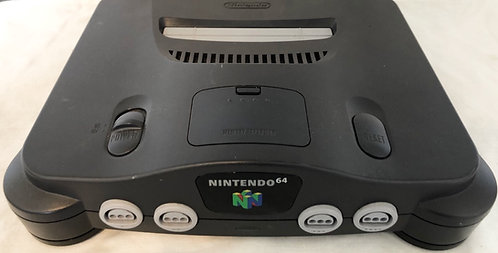 Nintendo N64 U.S.A. Version (With free Power Convertor)