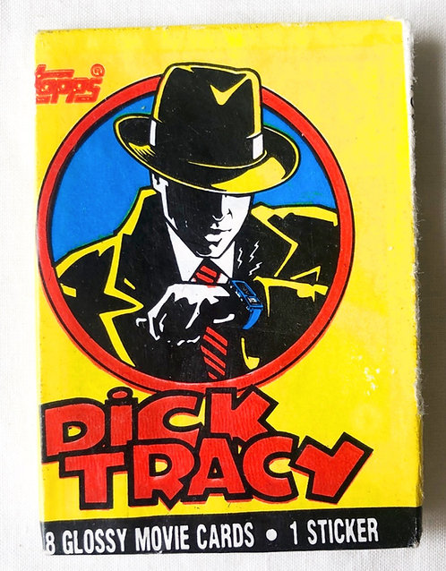 Dick Tracey Movie Cards And Stickers
