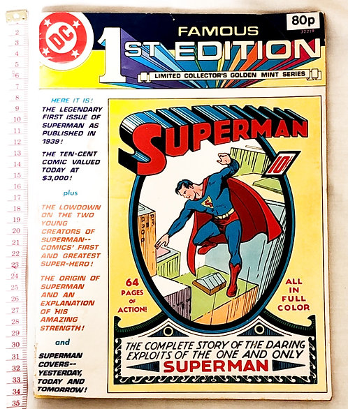 Superman #1 Famous 1ST Edition Treasury Edition 1979