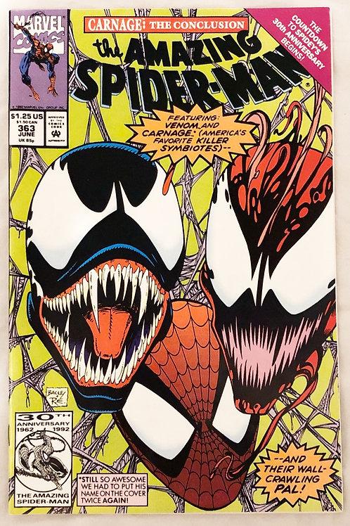 Marvel The Amazing Spider-Man June #363 1992