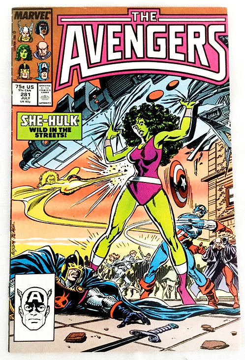 The Avengers No. 281 July 1987